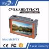 ვიდეო კამერების ტესტერი მონიტორი 4.3 Inch  HD  AHD CVI TVI CVBS