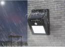 LED ღამის  განათების ნათურა მზის პანელით