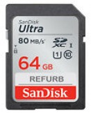 ჩიპი ფოტოაპარატისთვის SanDisk Ultra SDXC 64GB Class 10 Camera