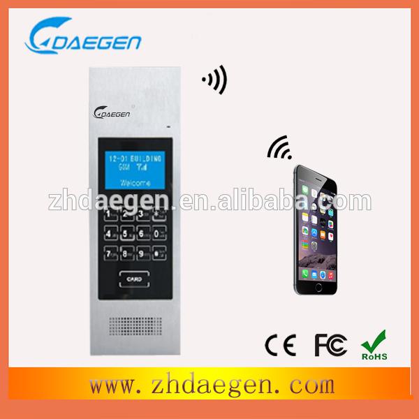 Daegen-wireless-GSM-apartment-intercom-audio-door