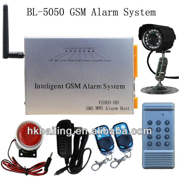 Business-Industrial-Home-GSM-intelligent-Alarm-System